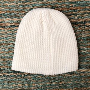 White Thermal Beanie